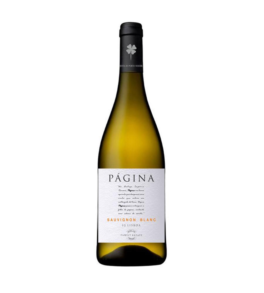 Vinho Branco Página Sauvignon Blanc 2017, 75cl Lisboa