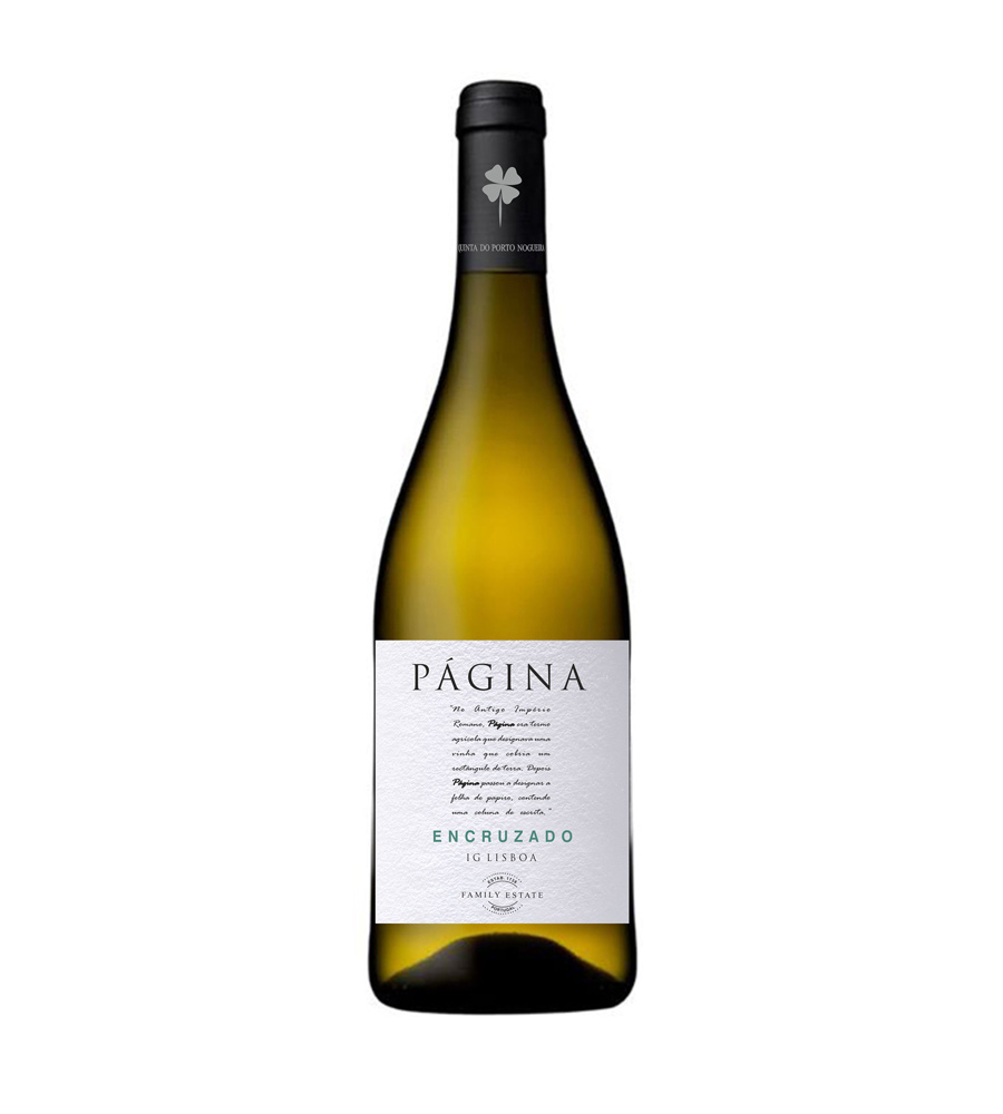 Vinho Branco Página Encruzado 2018, 75cl Lisboa