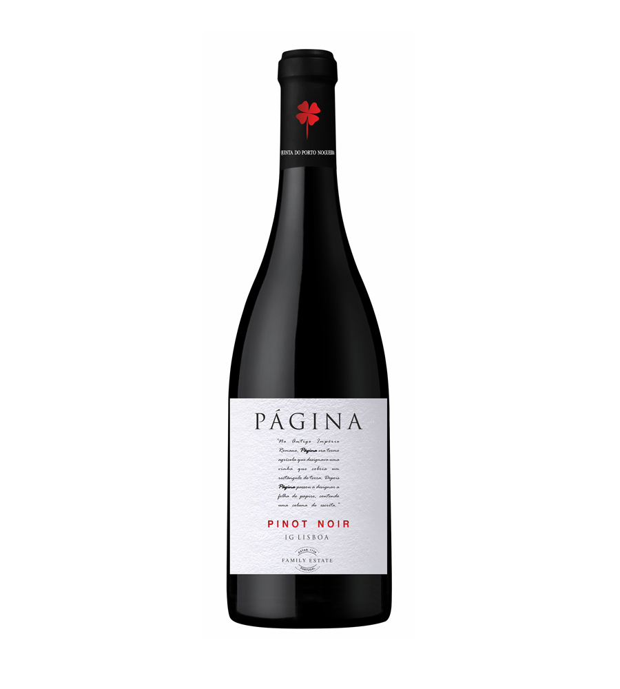 Vinho Tinto Página Pinot Noir 2018, 75cl Lisboa