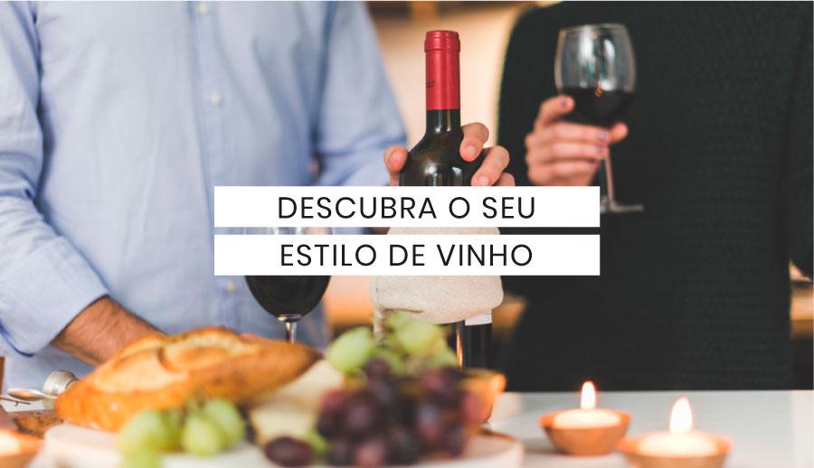 Descubra o seu estilo de vinho