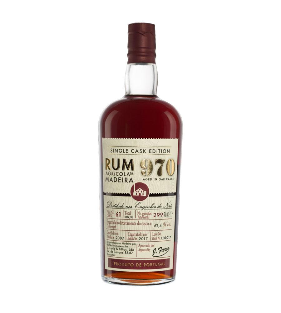 Rum 970 Single Cask Edition 2009, 70cl Madeira