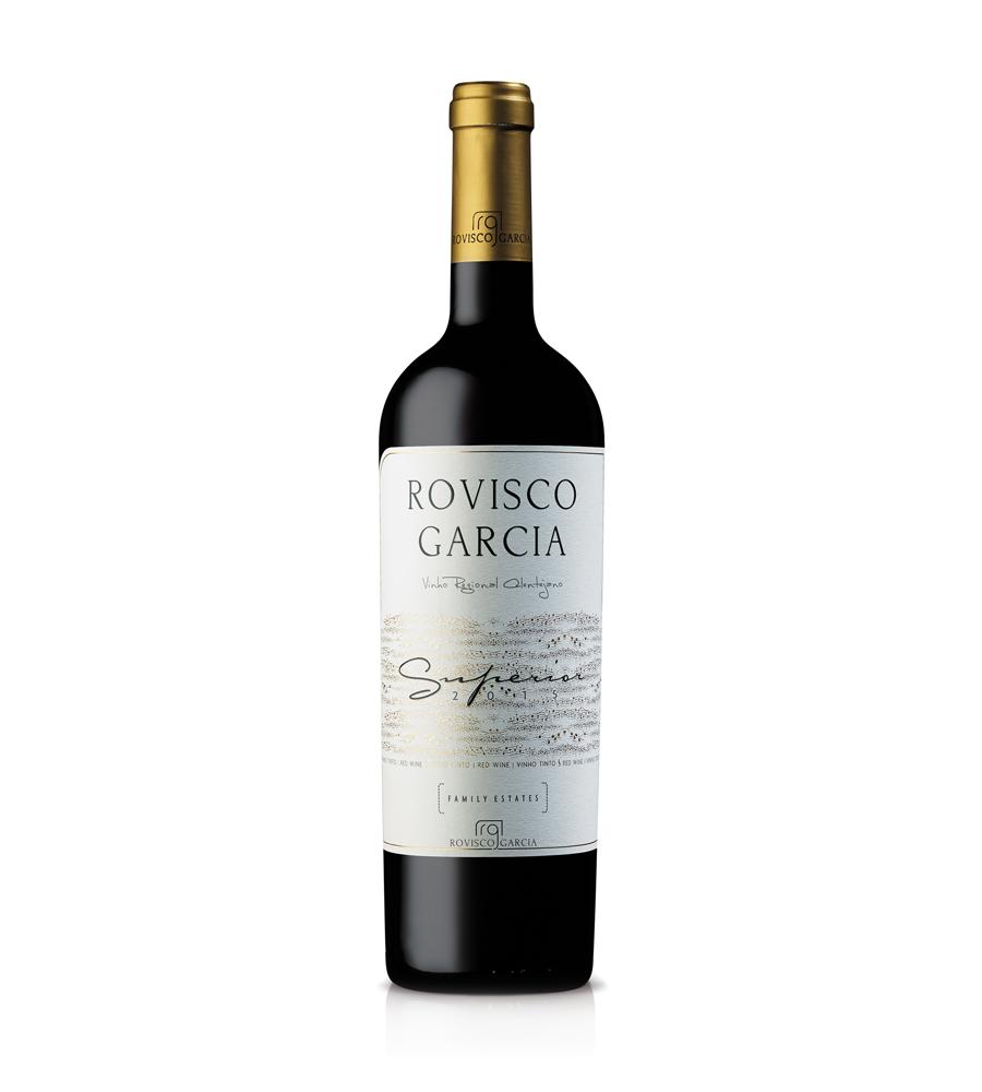 Vinho Tinto Rovisco Garcia Superior 2015, 75cl Regional Alentejano