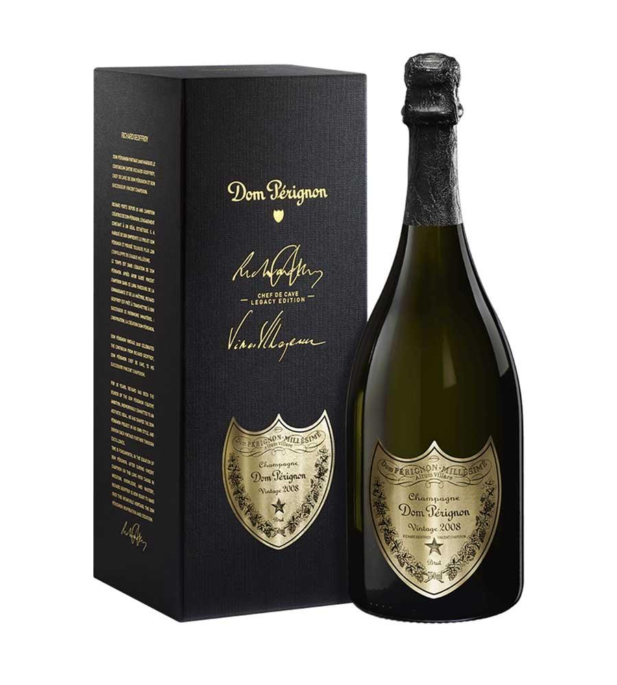 Champagne Dom Pérignon Legacy Edition 2008, 75cl Champanhe