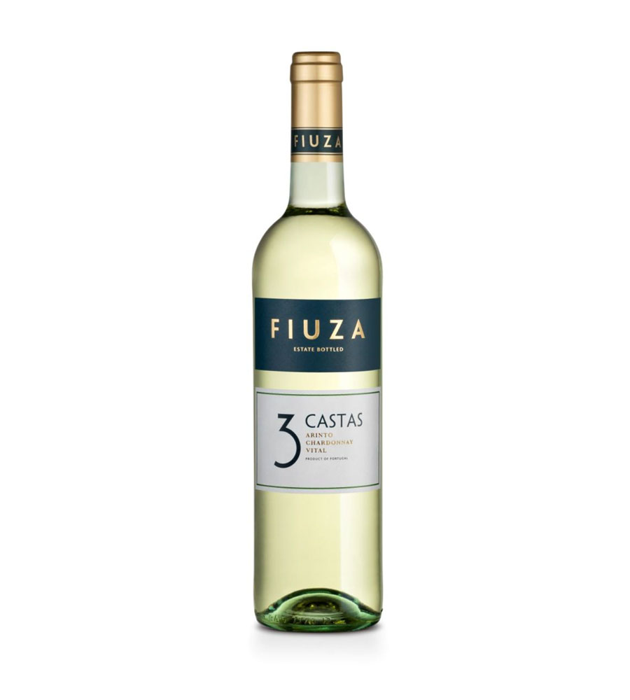 Vinho Branco Fiuza 3 Castas 2019, 75cl Tejo