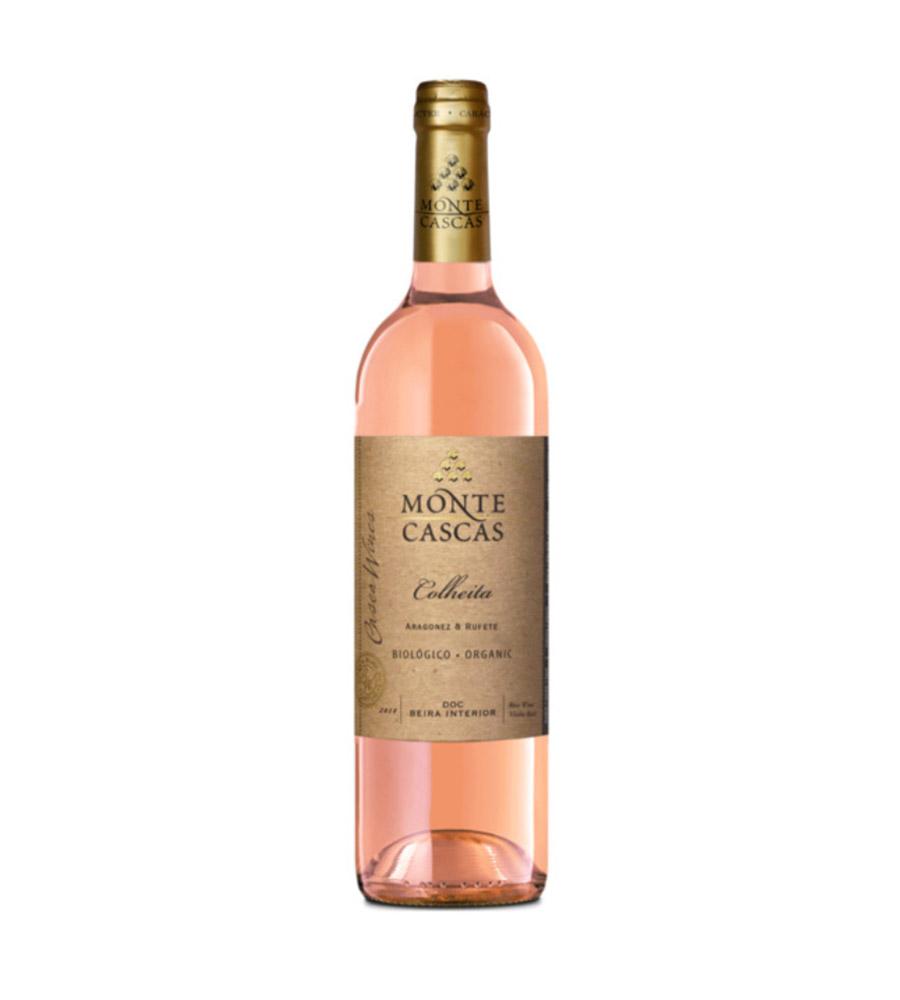 Vinho Rosé Monte Cascas Biológico 2018, 75cl Beira Interior