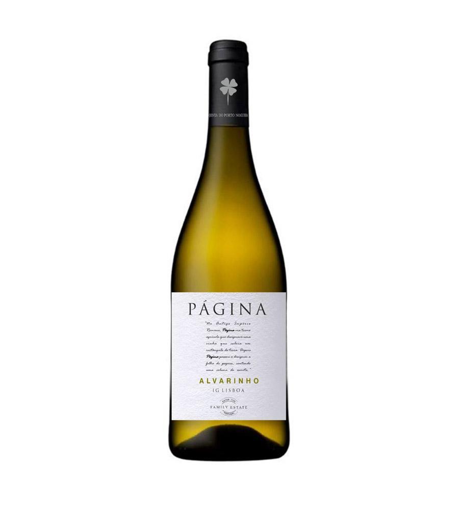 Vinho Branco Página Alvarinho 2018, 75cl Lisboa