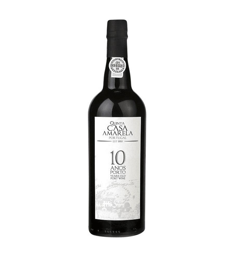 Vinho do Porto Quinta Casa Amarela 10 Anos, 75cl Douro