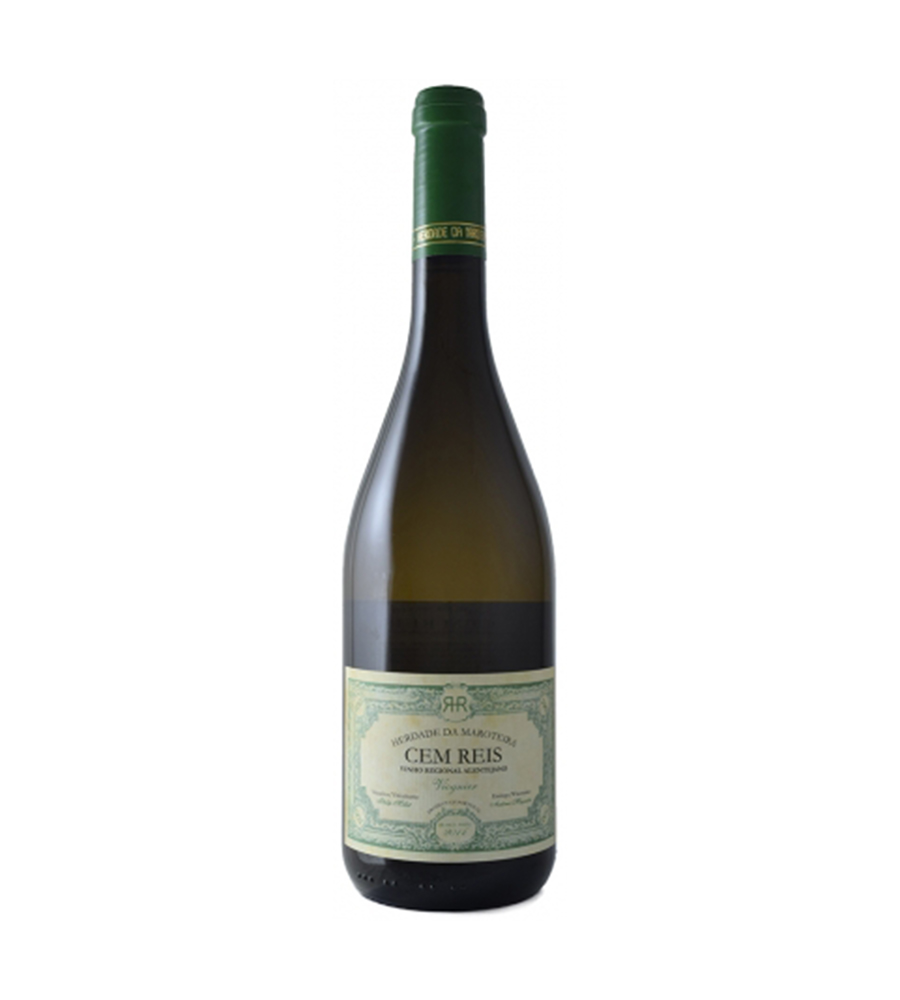 Vinho Branco Cem Reis Viognier 2018, 75cl Alentejo