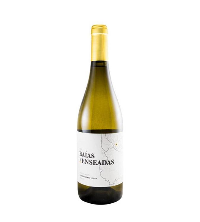 Vinho Branco Baías e Enseadas Reserva Arinto 2017, 75cl Regional  Lisboa
