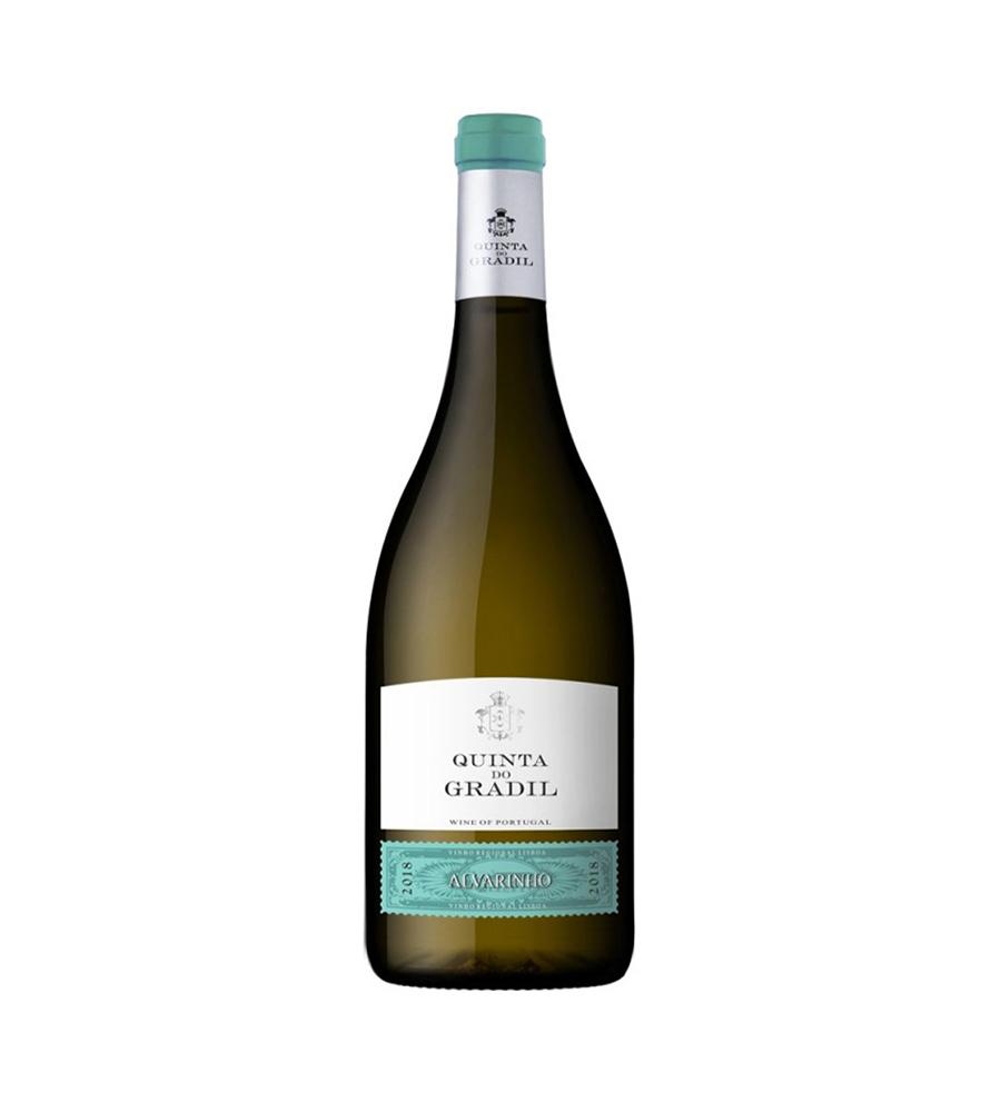 Vinho Branco Quinta do Gradil Alvarinho 2018, 75cl Regional Lisboa