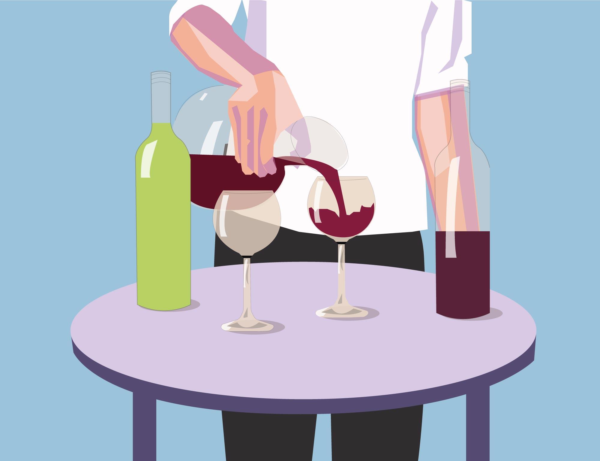 Que vinhos se devem decantar?