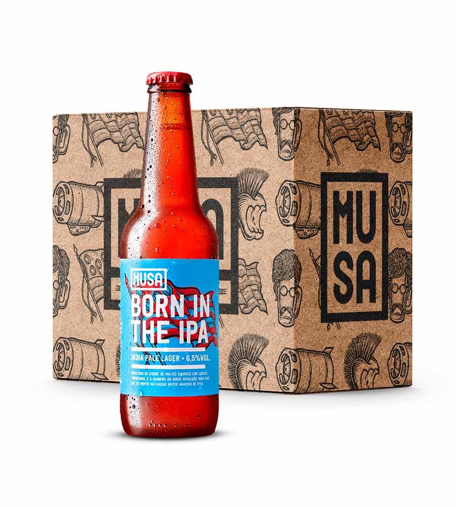 Cerveja Musa Born In The Ipa 12 x 33cl Lisboa