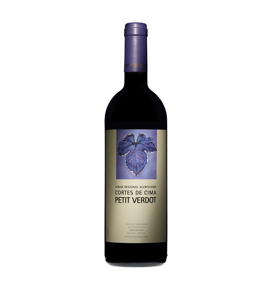Vinho Tinto Cortes de Cima Pettit Verdot 2015, 75cl Regional Alentejano