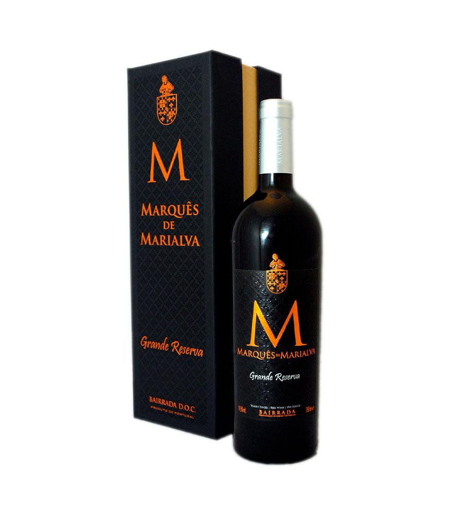 Vinho Tinto Marquês de Marialva Grande Reserva 2013, 75cl Bairrada