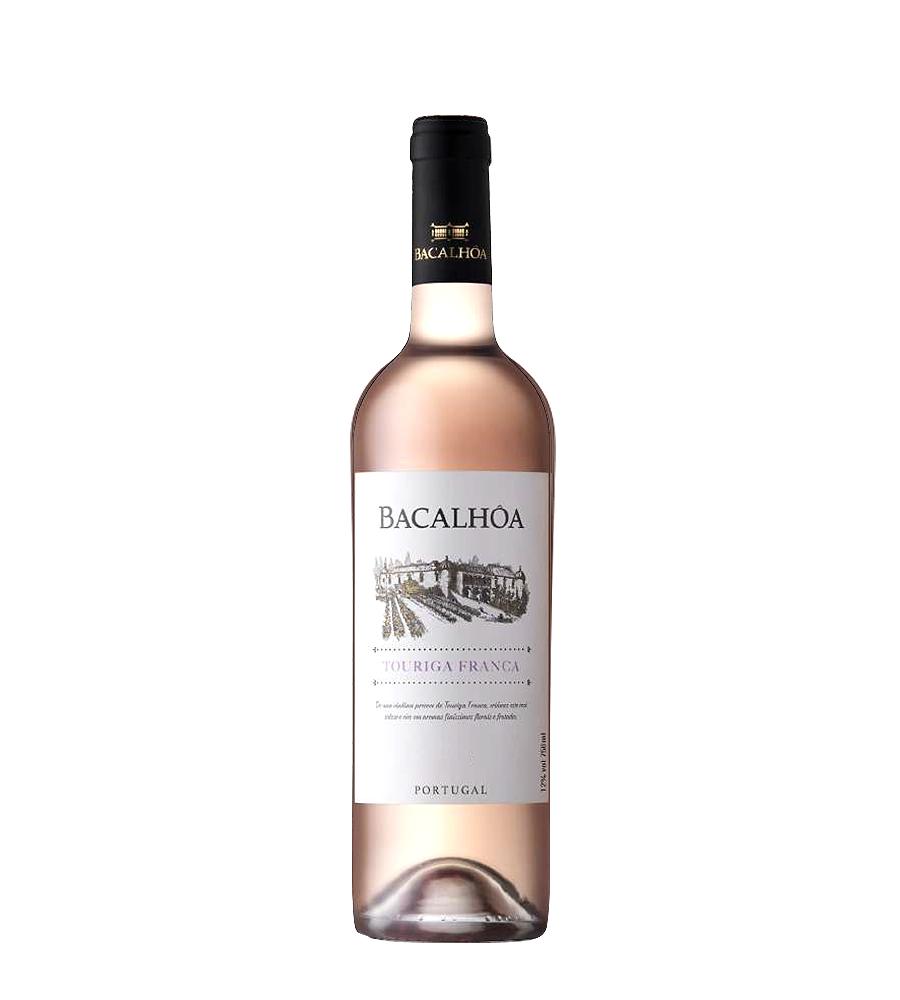 Vinho Rosé Bacalhôa Touriga Franca 2018, 75cl Península de Setúbal