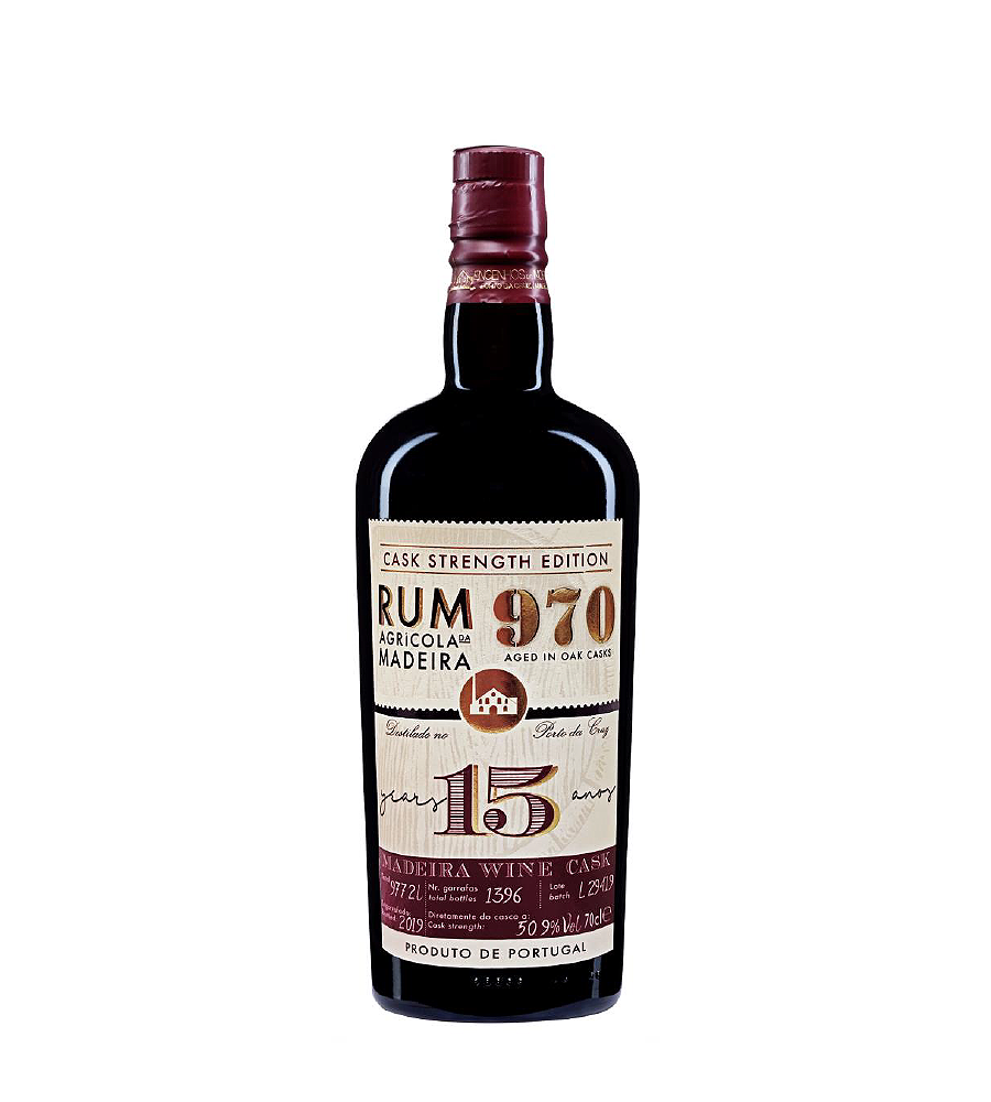 Rum 970 15 Anos, 70cl Madeira