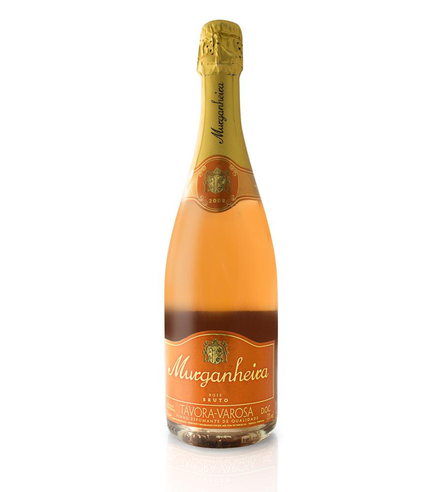 Sparkling Wine Murganheira Rosé Bruto Távora-Varosa DOC