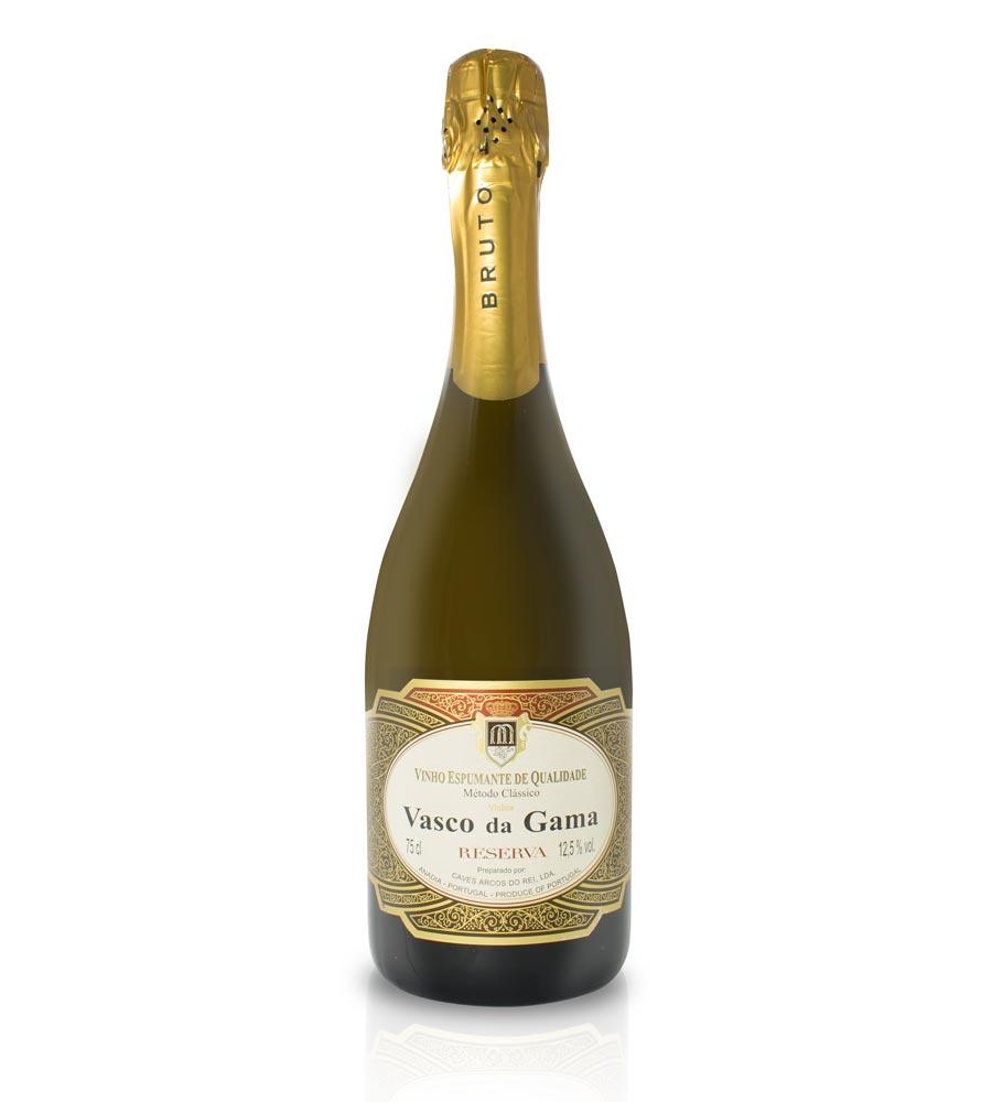 Sparkling Wine Vasco da Gama Reserva Bruto Sparkling
