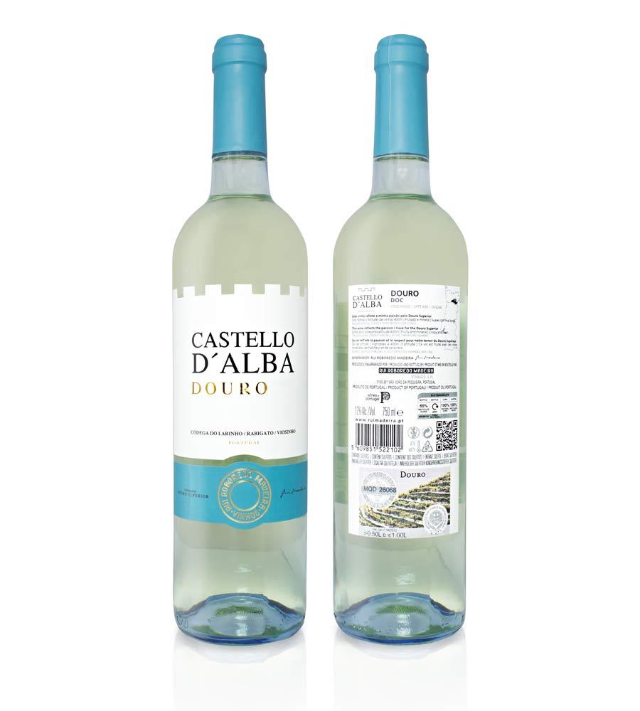 Vinho Branco Castello D'Alba Colheita 2015 75cl Douro DOC