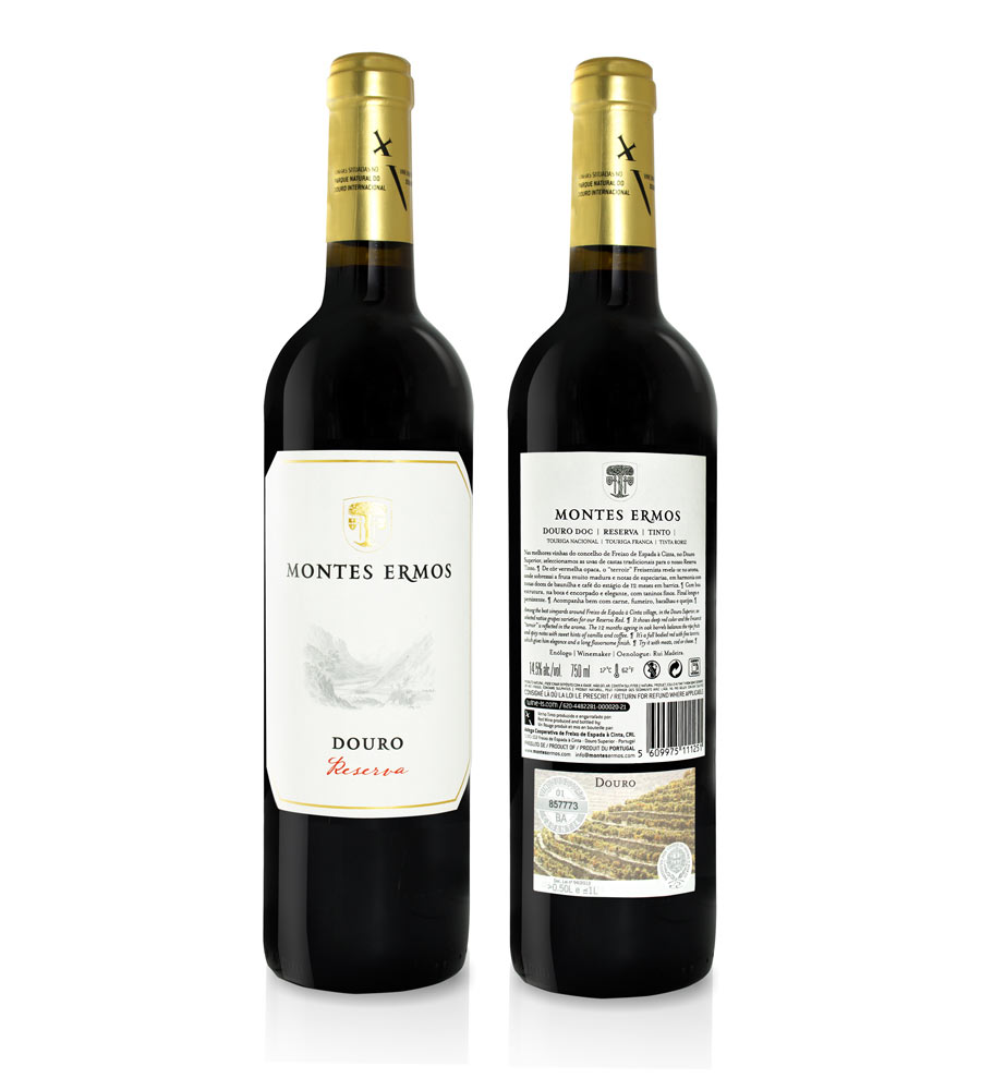Red Wine Montes Ermos Reserva 2017 Douro DOC