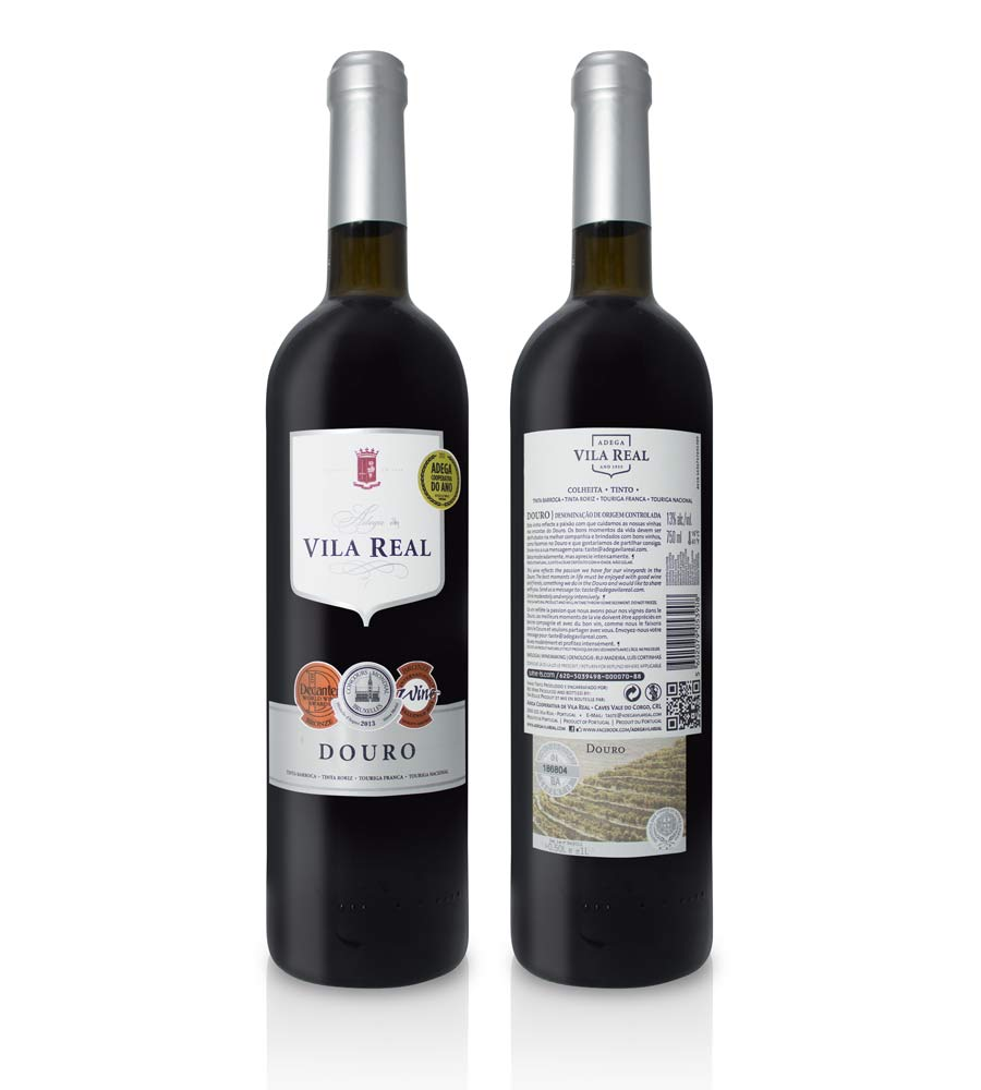 Red Wine Vila Real Colheita Douro DOC
