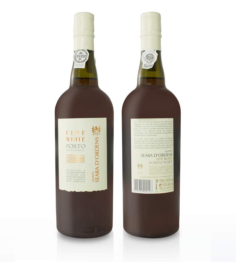 Port Wine Quinta Seara d'Ordens Fine White DOC Douro e Porto