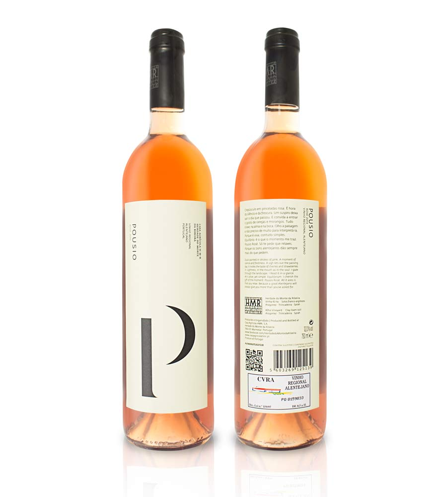 Vinho Rosé Pousio 2016 75cl Alentejo