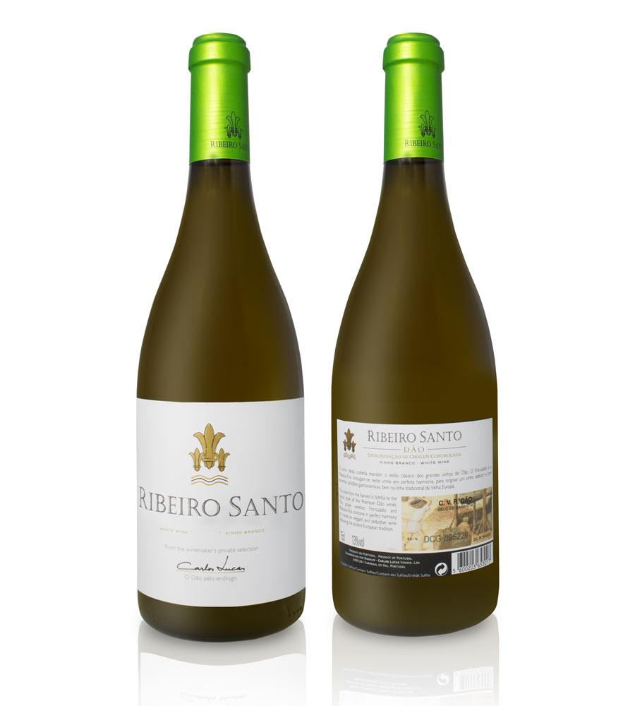 Vinho Branco Ribeiro Santo 2015 75cl Dão DOC