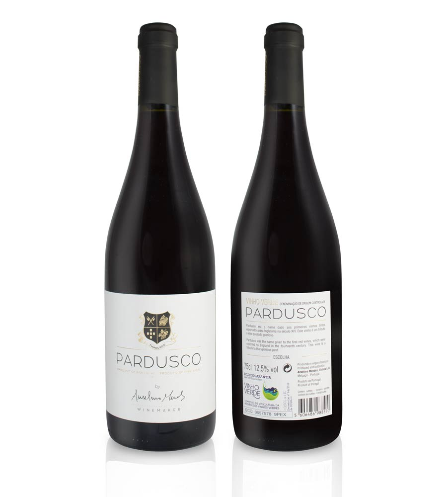 Red Wine Pardusco 2015 Vinho Verde DOC