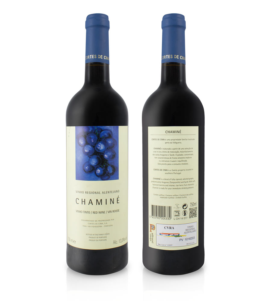 Red Wine Chaminé 2017 Alentejo