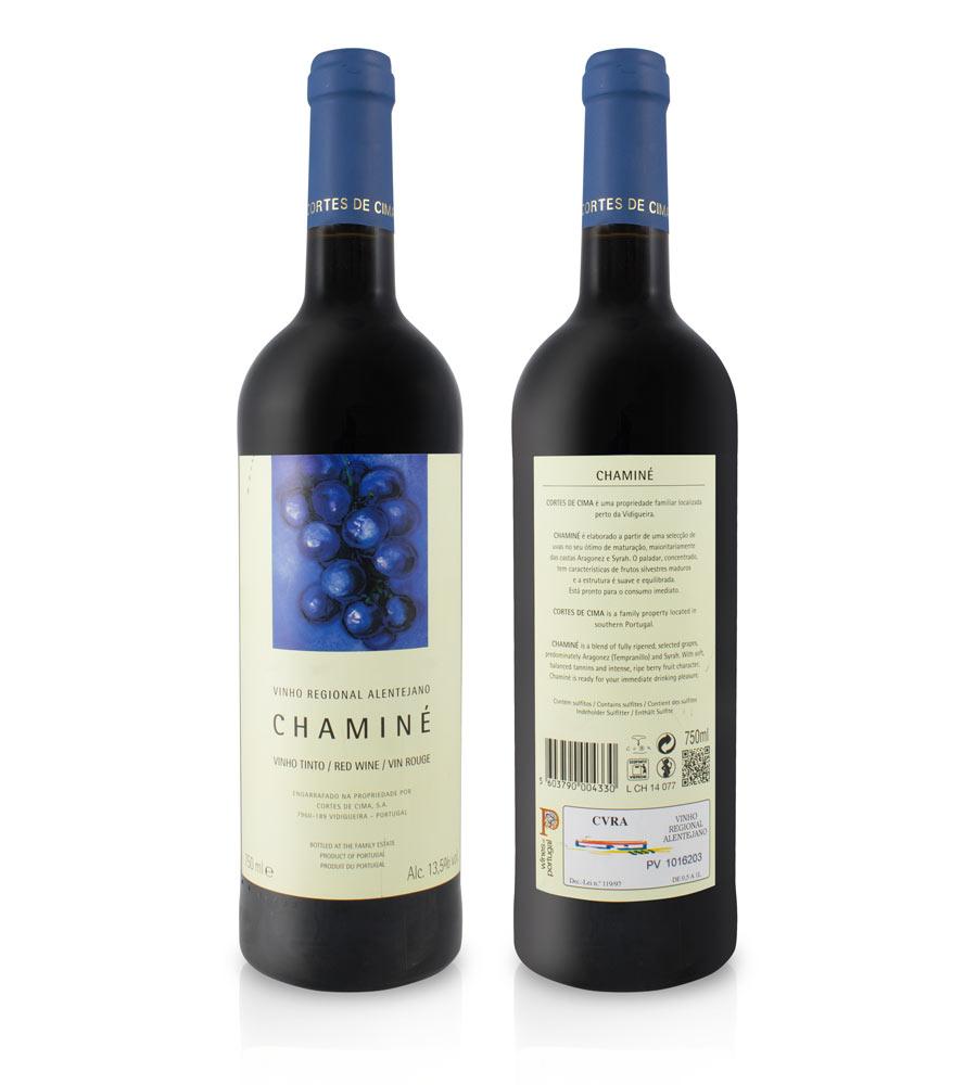 Vinho Tinto Chaminé 2015 75cl Alentejo