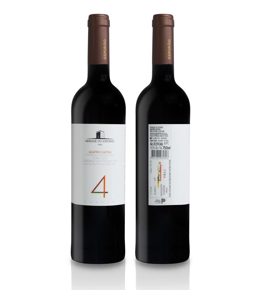 Red Wine 4 Castas Esporão 2016 Alentejo
