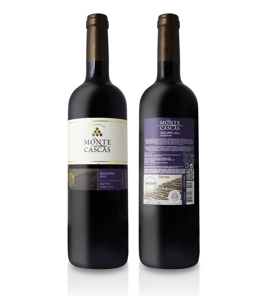 Vinho Tinto Monte Cascas Reserva 2015, 75cl Douro