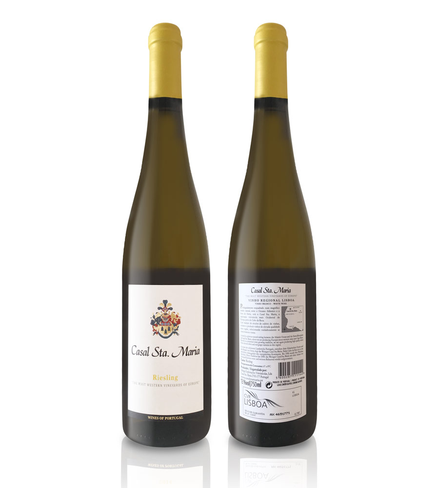 Vinho Branco Casal Santa Maria Riesling 2014 75cl Lisboa
