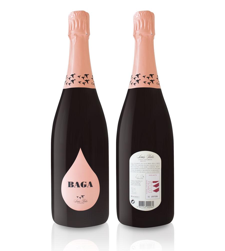 Vinho Espumante Luis Pato Baga Bruto 75cl Beira Atlântico