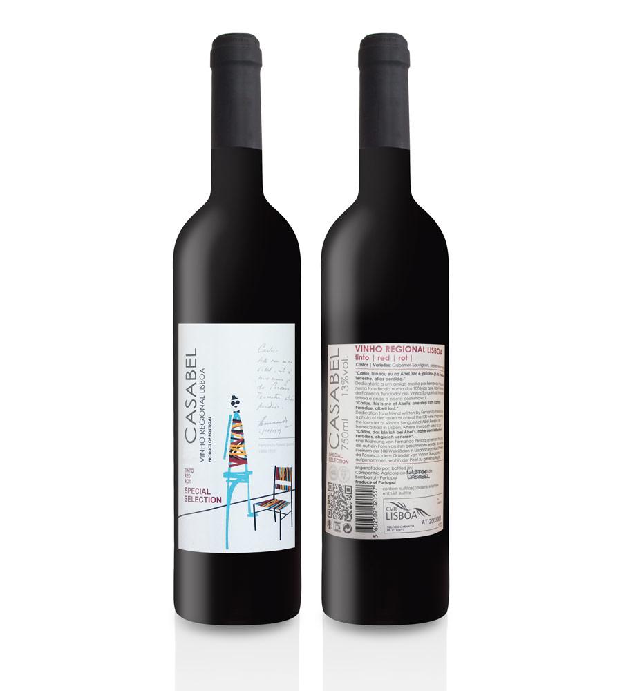 Vinho Tinto Casabel Special Selection 2011 75cl Lisboa