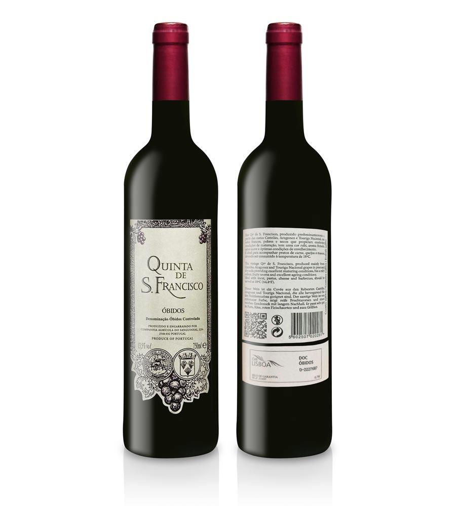 Vinho Tinto Quinta S. Francisco 2014 75cl DOC Óbidos