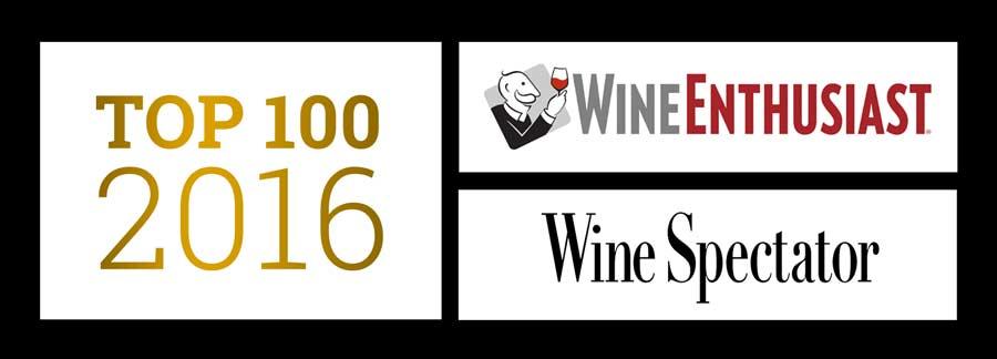 Top 100 dos vinhos de 2016