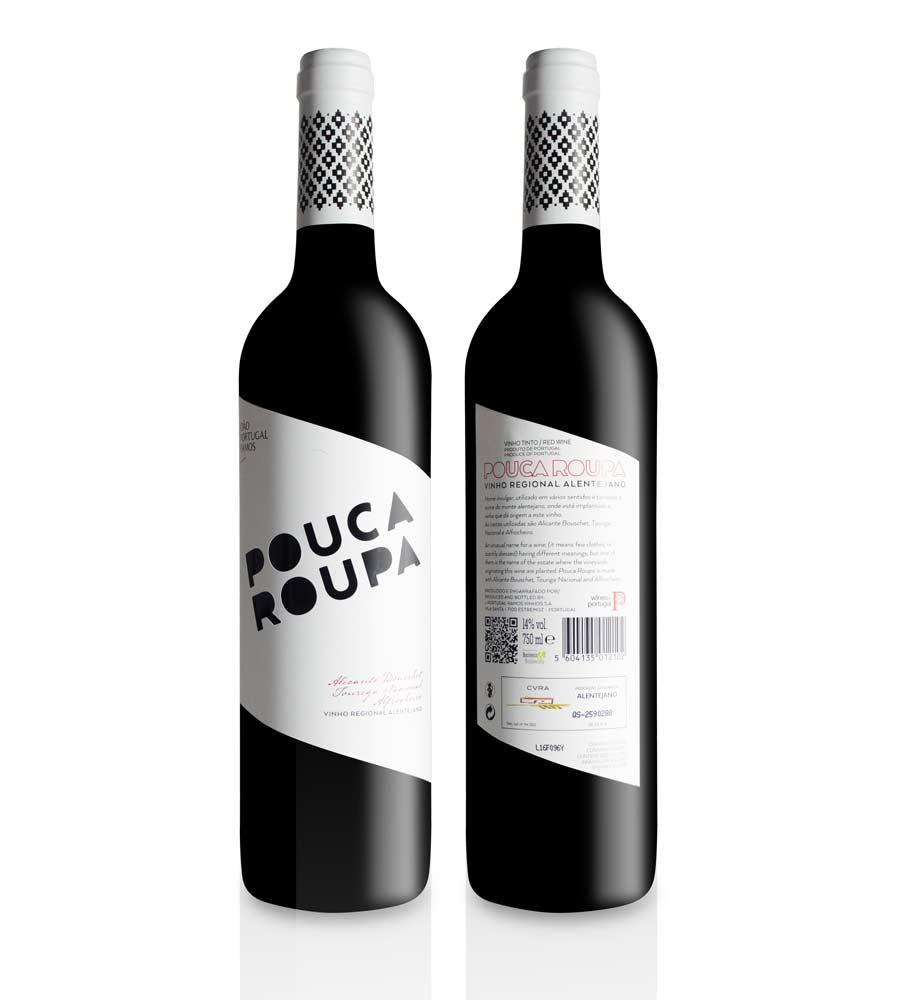 Red Wine Pouca Roupa 2016 Alentejo