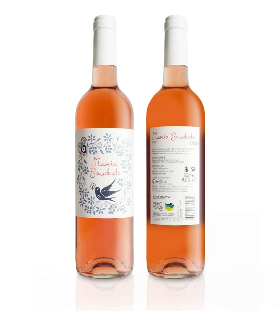 Rosé Wine Maria Saudade Vinho Verde