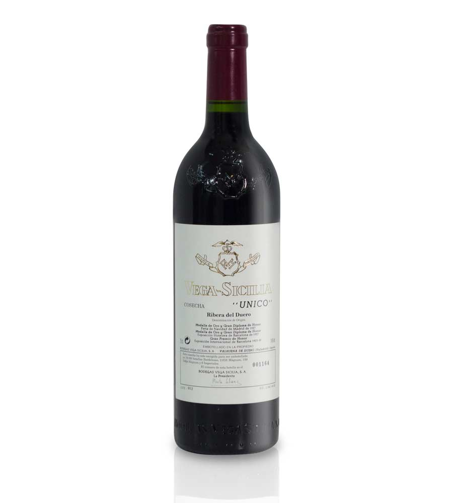 Red Wine Vega Sicilia Único 2005 Ribera del Duero
