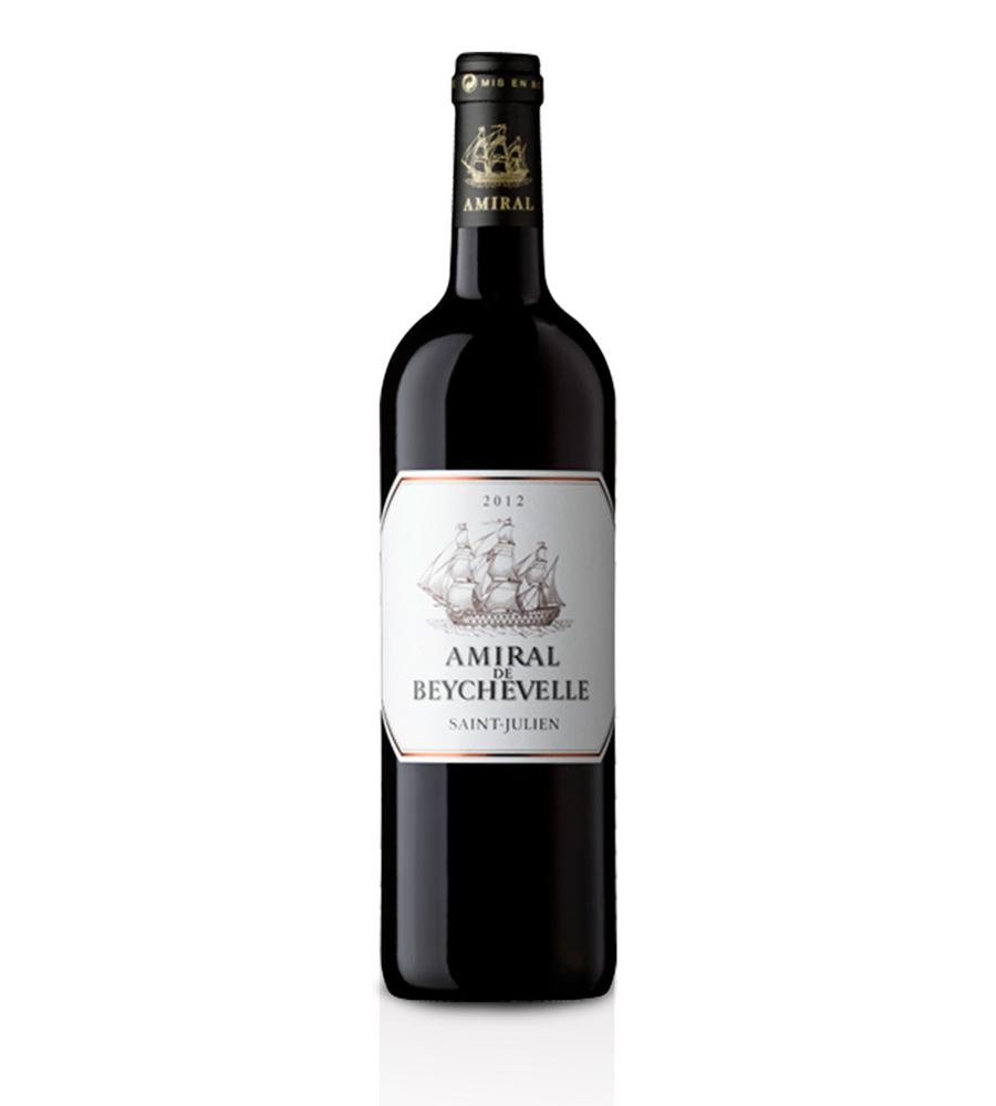 Red Wine Amiral de Beychevelle Château Beychevelle 2015 Bordeaux