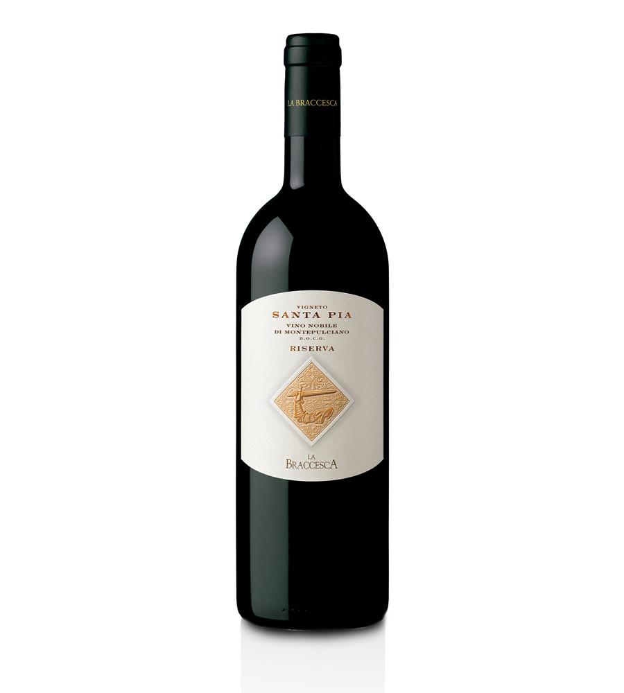 Red Wine Vigneto Santa Pia Riserva 2012 Montepulciano DOCG