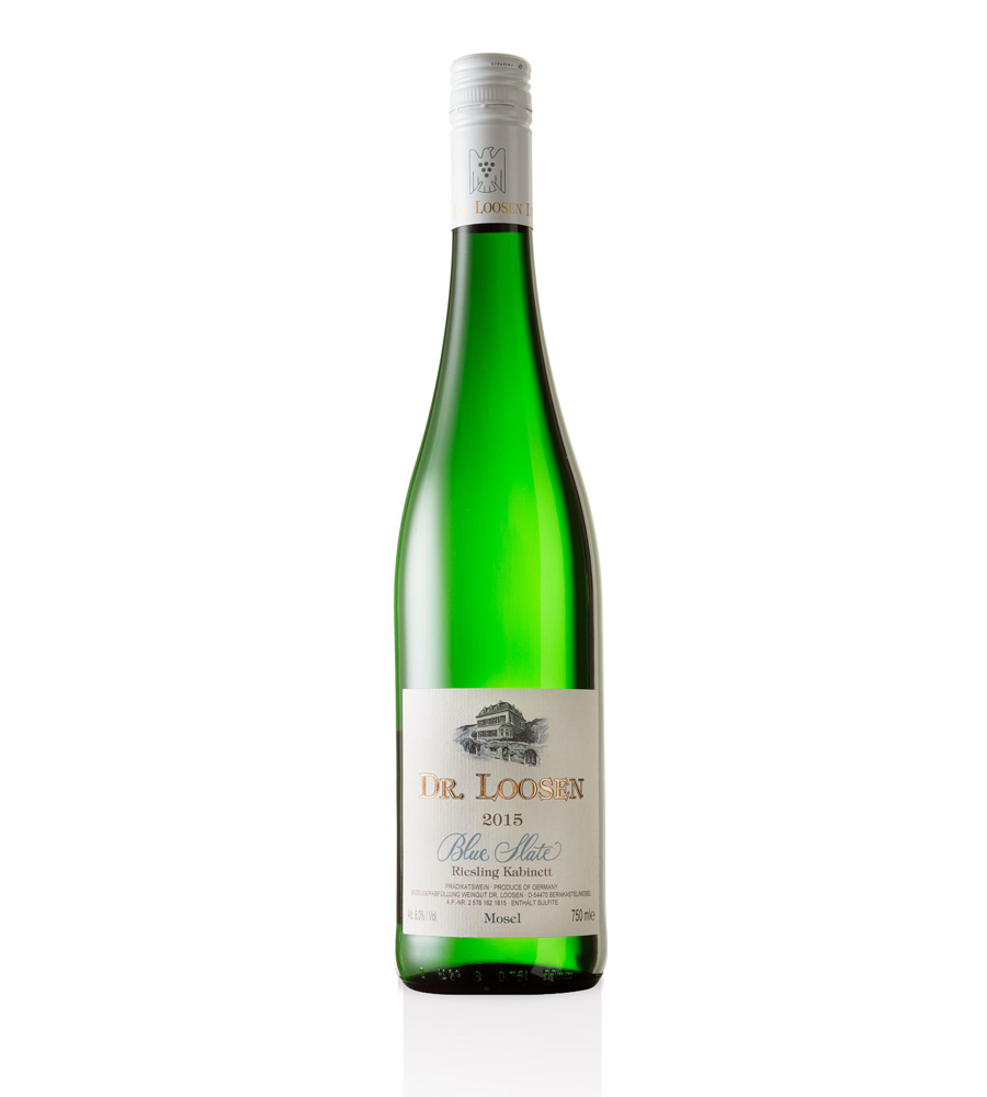 White Wine Dr. Loosen Blue Slate Riesling Kab. 2017 Mosel