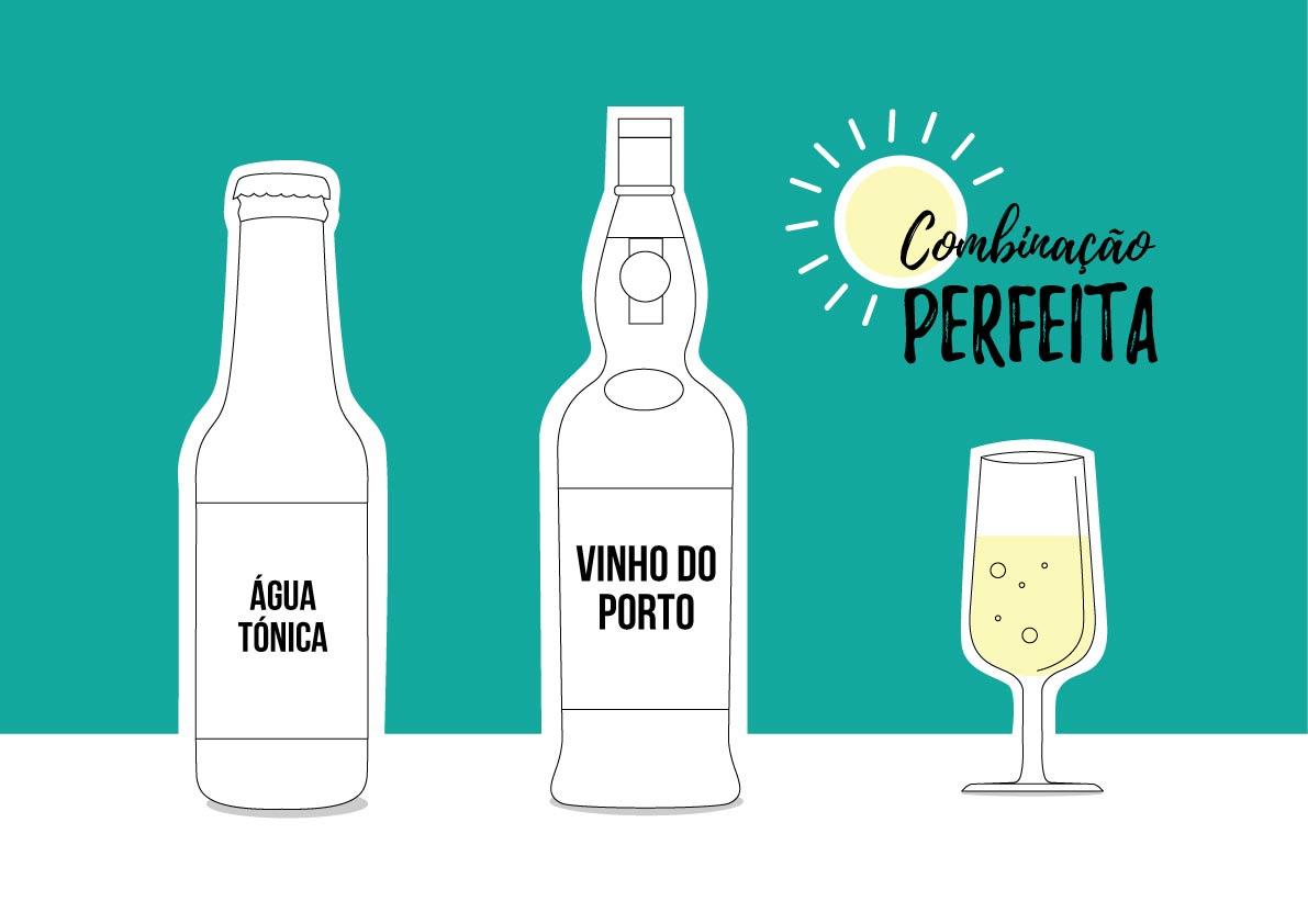 Combinação perfeita: Verão e Porto tónico