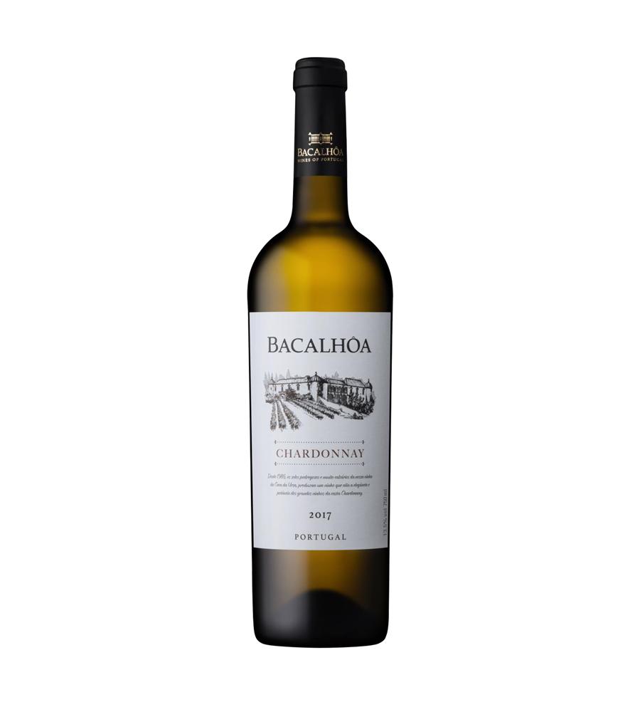 Vinho Branco Bacalhôa Chardonnay 2017 75cl Regional Península de Setúbal