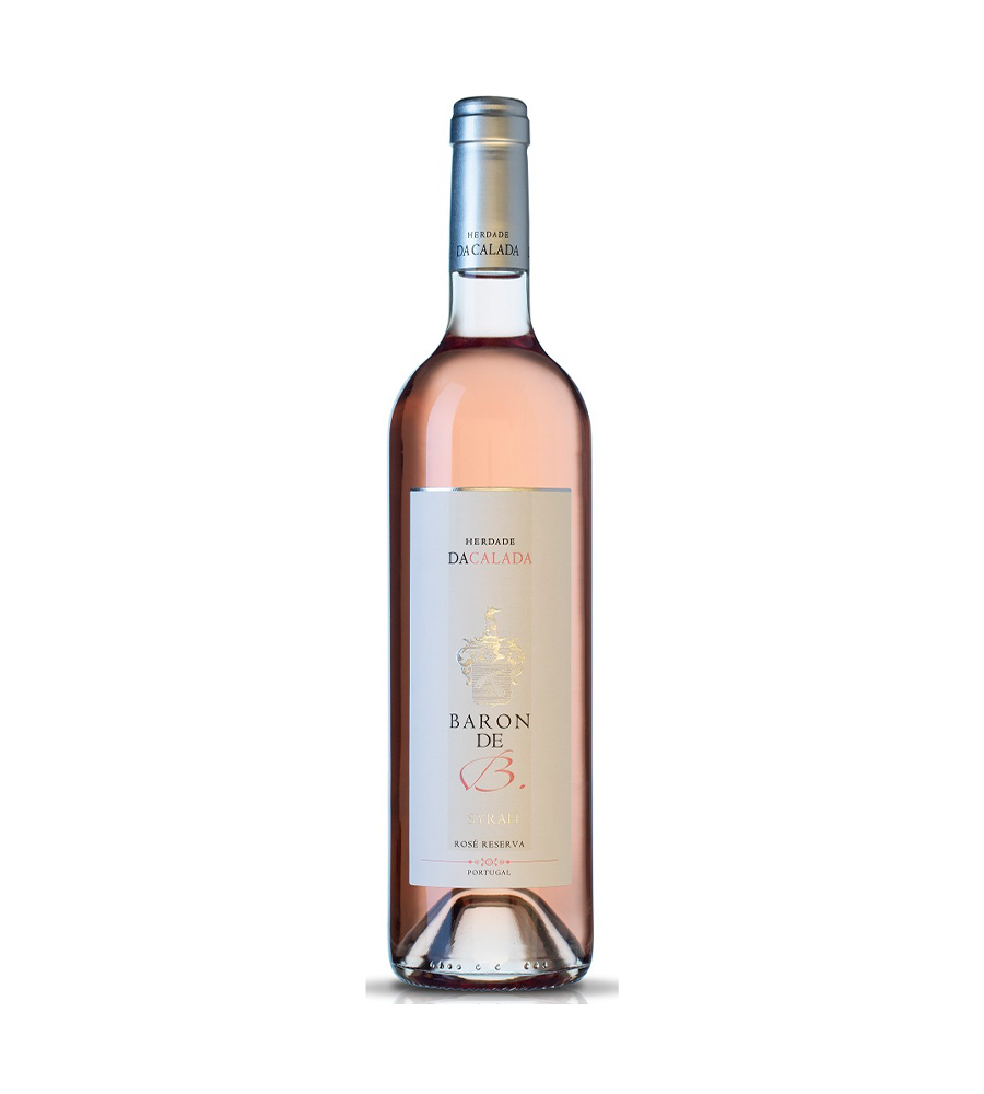 Vinho Rosé Herdade DaCalada Baron De B Syrah Reserva 2018, 75cl Alentejo
