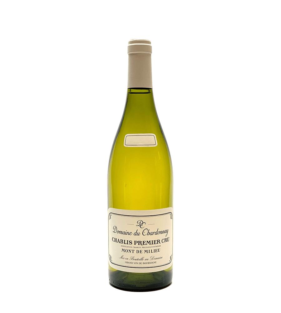 Vinho Branco Domaine du Chardonnay Chablis Premier Cru Mont de Milieu 2018, 75cl Chablis