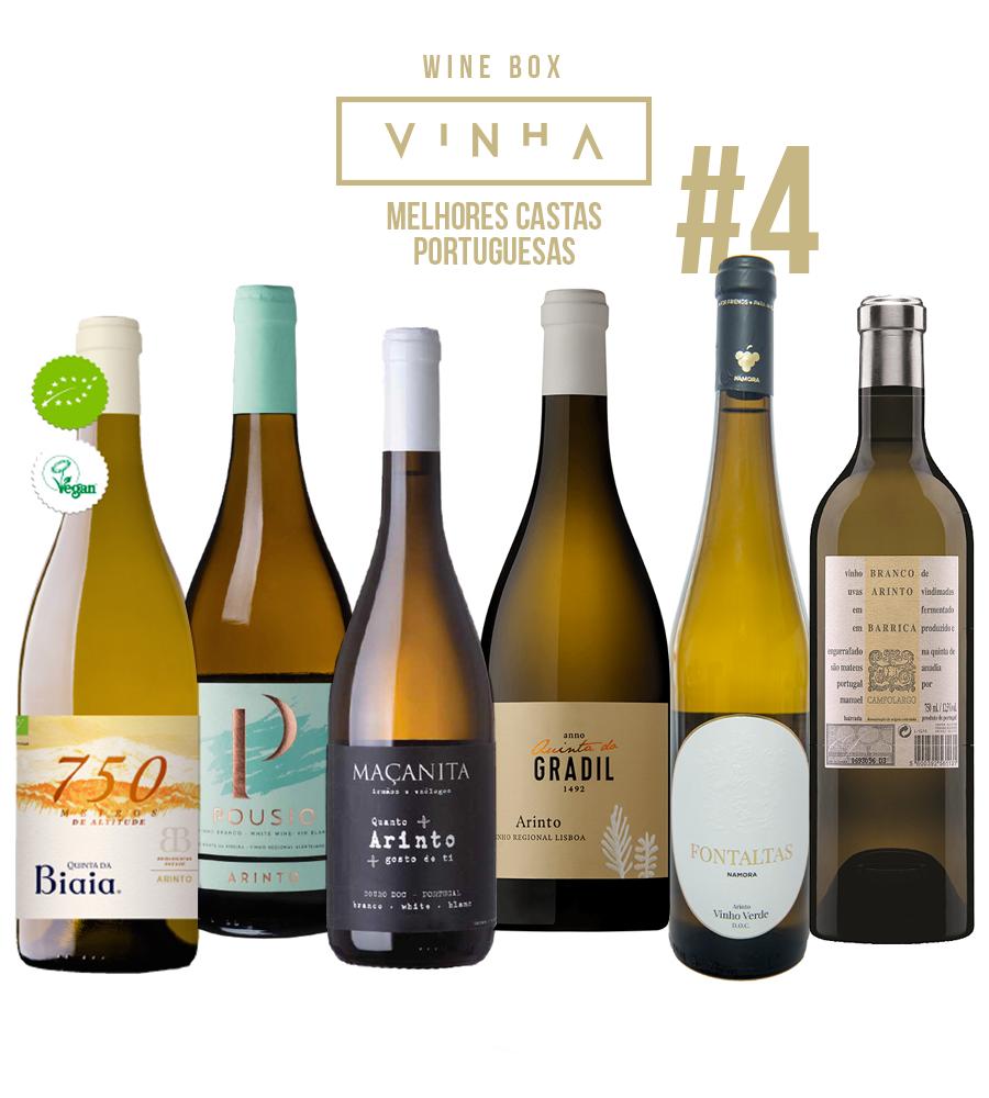 Wine Box Vinho Branco Seleção Rodolfo Tristão #4 Arinto Portugal