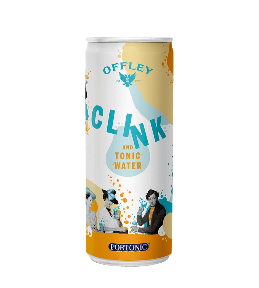 VInho do Porto Offley Clink & Tonic Water Pack 6 x 250ml Portugal